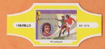 1974 World Cup Cigar Band Holland Johan Cruyff (Yellow)